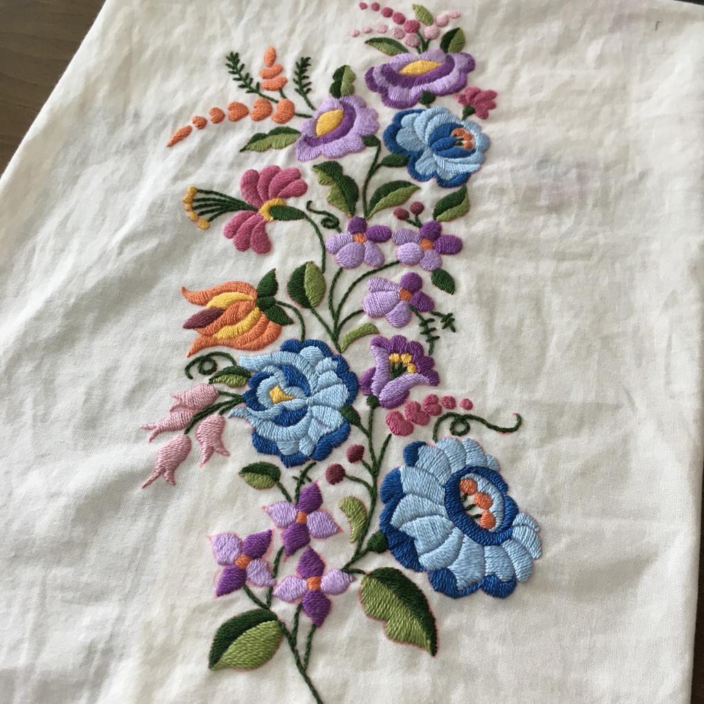 ハンガリー刺繍完成2