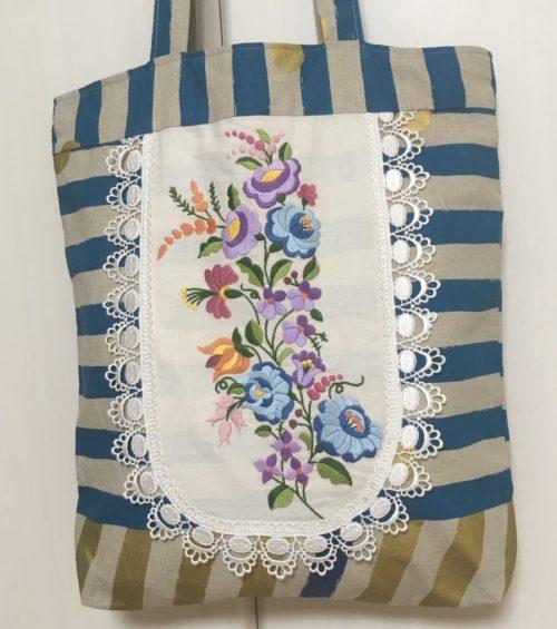 ハンガリー刺繍バッグ2020-0107-2