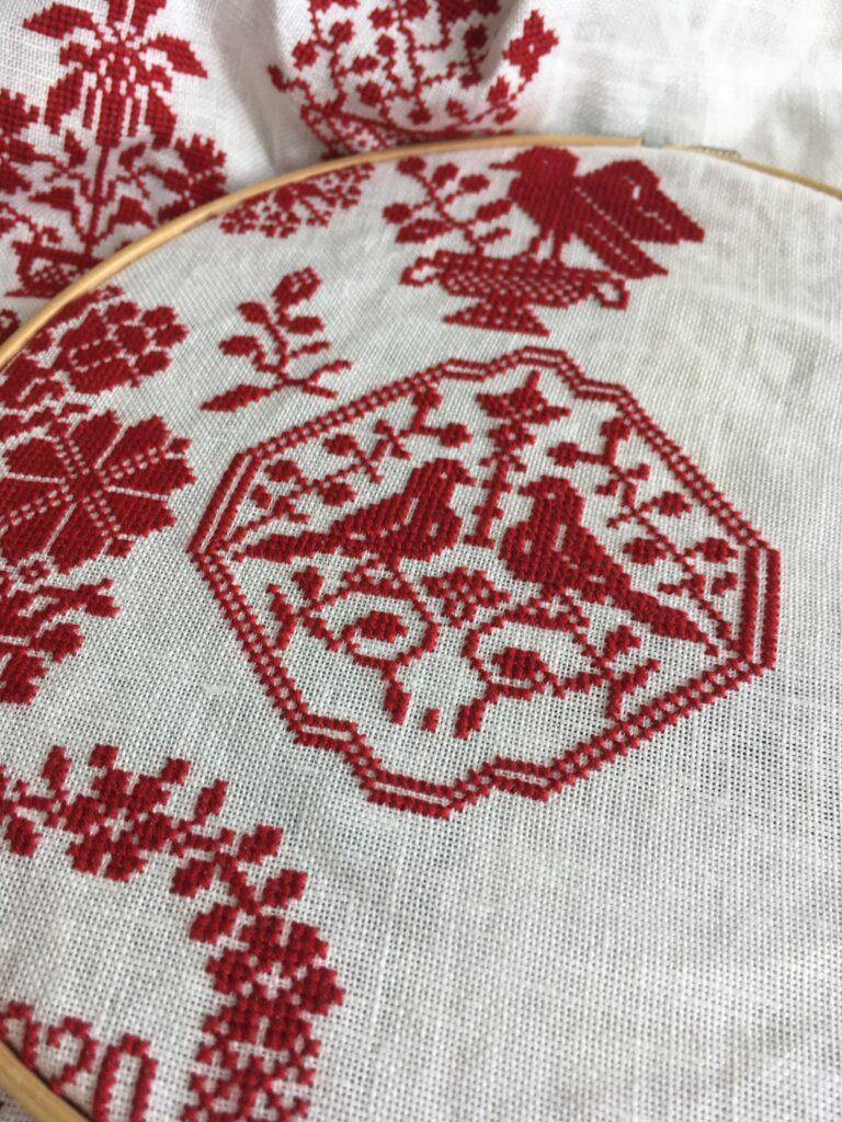 Linen and thread」mysterySAL-8月